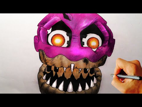 Xxx Mp4 How To Draw Nightmare Cupcake From Five Nights At Freddy S 4 FNaF 4 Drawing Lesson 3gp Sex