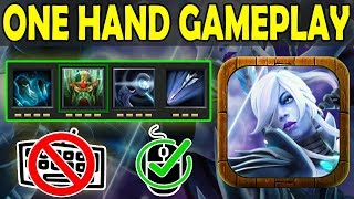 Full Passive Only Need Mouse GamePlay [One Hand Build] Ability Draft Dota 2
