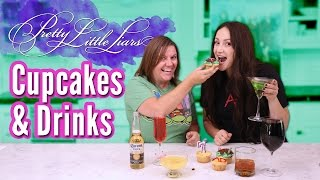 Pretty Little Liars Cupcakes + Drinks | Shay's Kitchen