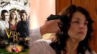 ¡Fabiola se suicida! | Lo que la vida me robó - Televisa