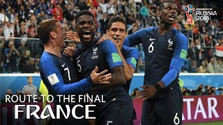 FRANCE - Route To The Final!