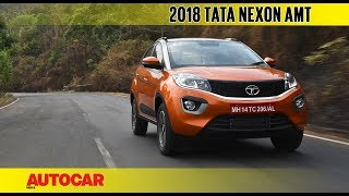 Tata Nexon AMT automatic | First Drive Review | Autocar India
