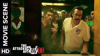 Attack at Leopold Cafe | The Attacks Of 26/11 | Nana Patekar | Movie Scene