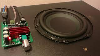 TPA3116 D2 100W subwoofer amplifier (under 10$)