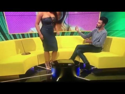 Xxx Mp4 Twerk Fail Lateysha Grace Has Wardrobe Malfunction Twerking On Live TV 3gp Sex