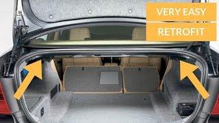 FOLDING REAR SEAT RETROFIT! WAS SO EASY! (E90,E91,E92,E93)
