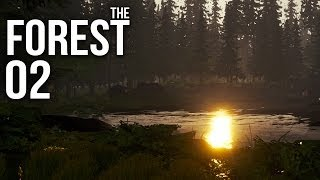 THE FOREST [HD+] #002 - Haus am Strand ★ Let's Play The Forest