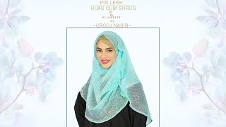 Pin less Hijab cum shrug |Hijabeaze by Urooj N.