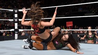 WWE RAW 11.17.14 Brie Bella vs. Nikki Bella (720p)