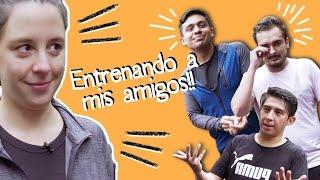 """ENTRENANDO A MIS """"AMIGOS"""" -SOFÍA NIÑO DE RIVERA"""
