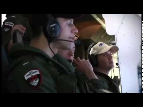 U.S. Navy P-8A Poseidon patrol aircraft search for MH370