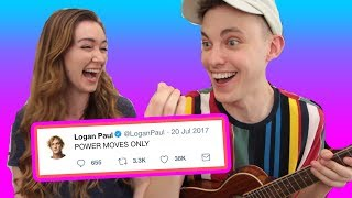 We wrote a song using only Logan Paul tweets