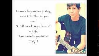 Austin Mahone - ''Say You're Just A Friend'' Piano Version (Lyrics)