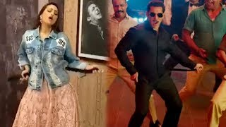 Sonakshi Sinha's FAADU DANCING On Salman Khan's Munna Badnaam Hua Song From Dabangg 3
