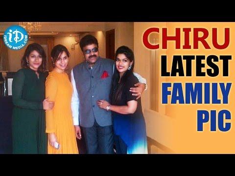 Chiranjeevi with Daughters And Daughter-in-Law - Upasana || Sushmita || Srija
