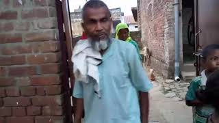 Toilet fight in village