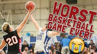 MY WORST BASKETBALL GAME EVER!