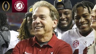Alabama Players On What Makes Nick Saban Happy | Inside The National Championship