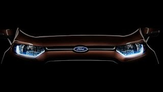 Ford Ecosport Facelift 2016 | Official Teaser Release