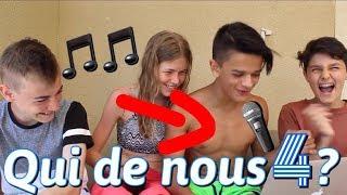 QUI CHANTE LE MIEUX? w/ Enzo Tais Toi, Hugo Small et Agathe Vssr