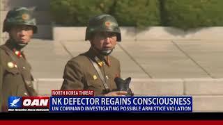 N. Korean Defector Regains Consciousness, U.N. Command Investigating Possible Armistice Violation