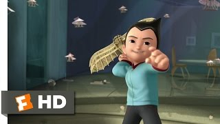 Astro Boy (2/10) Movie CLIP - Da Vinci's Flyers (2009) HD