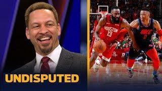 Harden or Westbrook? Chris Broussard picks who has the more impressive streak | NBA | UNDISPUTED