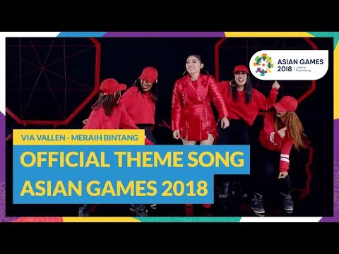 Download Lagu Meraih Bintang - Via Vallen - Official Theme Song Asian Games 2018 MP3