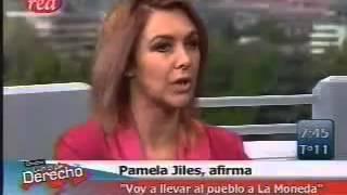 Entrevista de Checho Hirane a la Candidata Presidencial Pamela Jiles parte 1