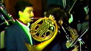 Lebanese Scout Association - Beirut Symphonic Band - XMAS Concert 1988 Part 2