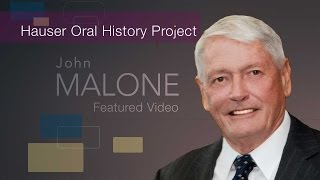 John Malone: Oral and Video Collection Interview