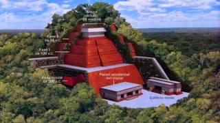 Descubren una nueva pirámide maya