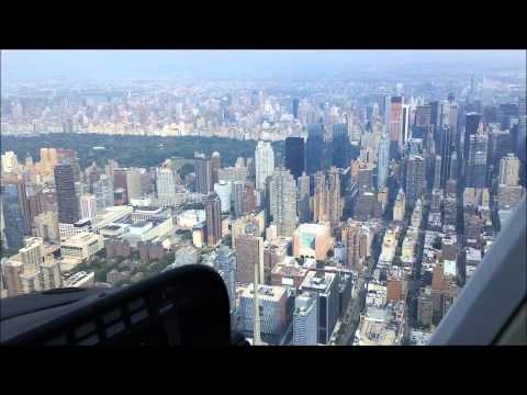 HELICOPTER RIDE in NEW YORK CITY NYC 15 minutes start to finish