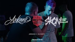 ARKANO vs SKONE Oficial FMS Alicante Jornada 2