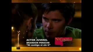 Paulina Goto y Eleazar Gomez // Mejor Actor juvenil // Premios TvyNovelas 2012