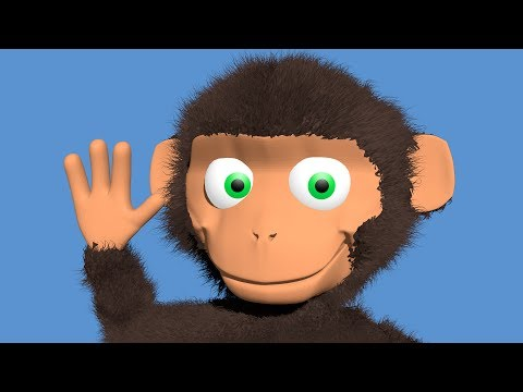 Alphabet song by the monkey