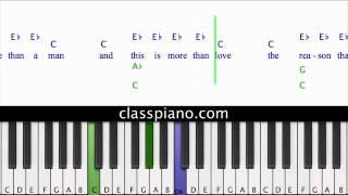 Unfaithful Piano Lesson, Rihanna
