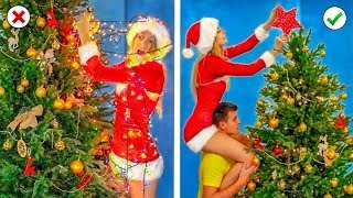 DIY Christmas Decor and Life Hacks Ideas You Must Try!