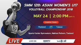 Thailand vs Taiwan | Asian Women