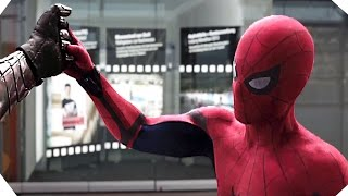 CAPTAIN AMERICA Civil War - New SPIDER-MAN Footage HD