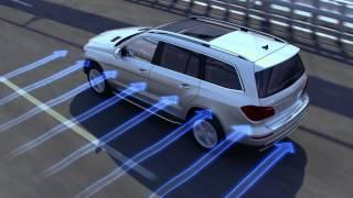 Crosswind Stabilization -- Mercedes-Benz Safety Features