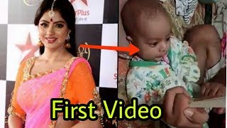 Deepika Singh aka Sandhya's (DABH) first video with real son Soham Goyal |Full video