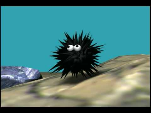Animación 3D La melancólica muerte del Pez Glogo.