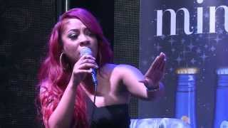 K. Michelle spazzes on Bossip at Love & Hip Hop Atlanta Season 2 Premiere Party