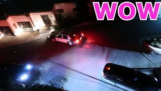 POLICE CAME TO THE CLOUT HOUSE