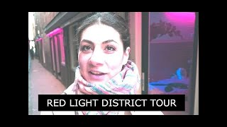 RED LIGHT DISTRICT WALKING TOUR TRAVEL VLOG 247 AMSTERDAM | ENTERPRISEME TV