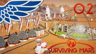 SURVIVING MARS | COLONY DOME PART 02 - ELON MUSK SPACEX Let