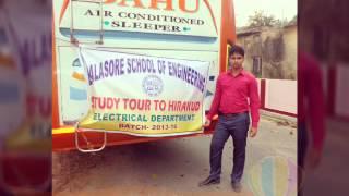 Balasore school of engineering,study tour to hirakud,2016