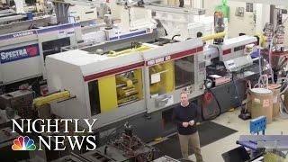 What It's Like Inside A Modern, Growing U.S. Manufacturing Company   NBC Nightly News