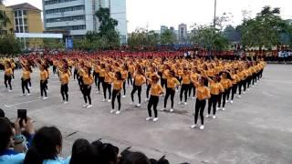 Dân vũ khoa giáo dục Tiểu Học ĐHSP Thái Nguyên 2017